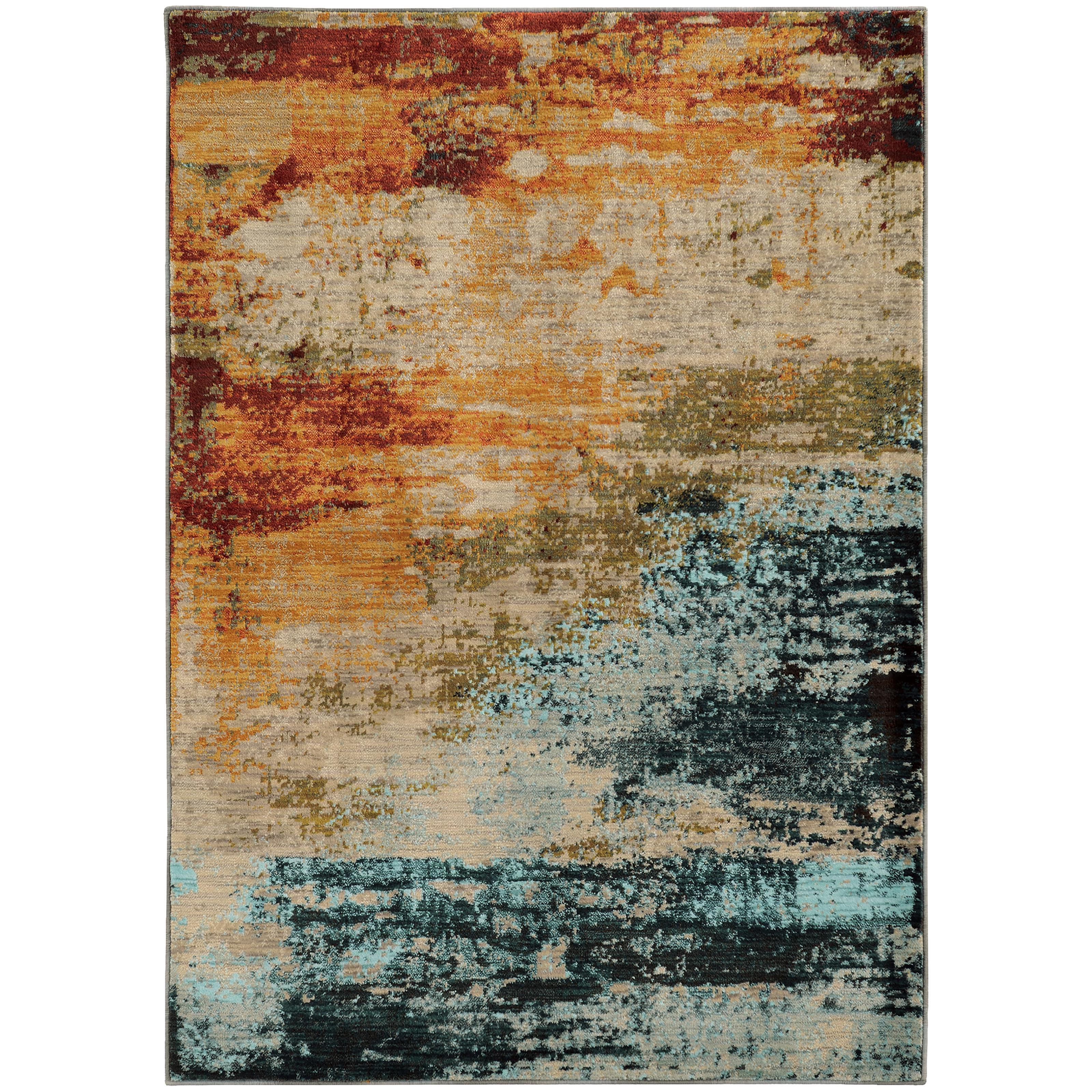 "Oriental Weavers Sedona 7'10"" X 10'10"" Rug - Item Number: S6365A240330ST"