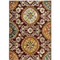 "Oriental Weavers Sedona 5' 3"" X  7' 6"" Rug - Item Number: S6366A160230ST"