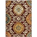 "Oriental Weavers Sedona 7'10"" X 10'10"" Rug - Item Number: S6366A240330ST"