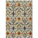 "Oriental Weavers Sedona 3'10"" X  5' 5"" Rug - Item Number: S6371C117165ST"