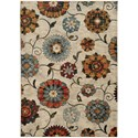 "Oriental Weavers Sedona 5' 3"" X  7' 6"" Rectangle Area Rug - Item Number: SED6361A53X76"