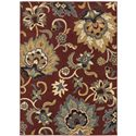 "Oriental Weavers Stratton 9'10"" X 12'10"" Rug - Item Number: S6034C300390ST"