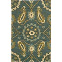 """Oriental Weavers Valencia 3' 6"""" X  5' 6"""" Rectangle Rug - Item Number: VAL5770236X56"""