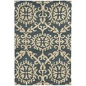 """Oriental Weavers Valencia 3' 6"""" X  5' 6"""" Rectangle Rug - Item Number: VAL5770436X56"""