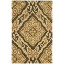 """Oriental Weavers Valencia 3' 6"""" X  5' 6"""" Rectangle Rug - Item Number: VAL5770536X56"""