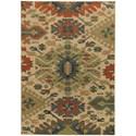 "Oriental Weavers Villa 3'10"" X  5' 5"" Rectangle Rug - Item Number: VIL5841A310X55"