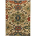 "Oriental Weavers Villa 9'10"" X 12'10"" Rectangle Rug - Item Number: VIL5841A910X1210"