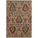 "Oriental Weavers Voyage 7'10"" X 10'10"" Rectangle Rug - Item Number: VOY104W710X1010"