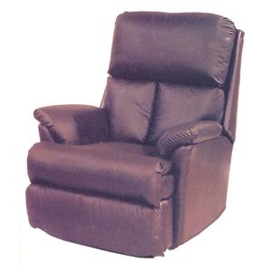 Ort Manufacturing Leathermate Chaise Rocker Recliner