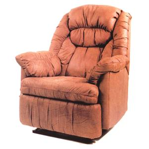 Ort Manufacturing Handle Recliner Wall Recliner w/ Coil Seating
