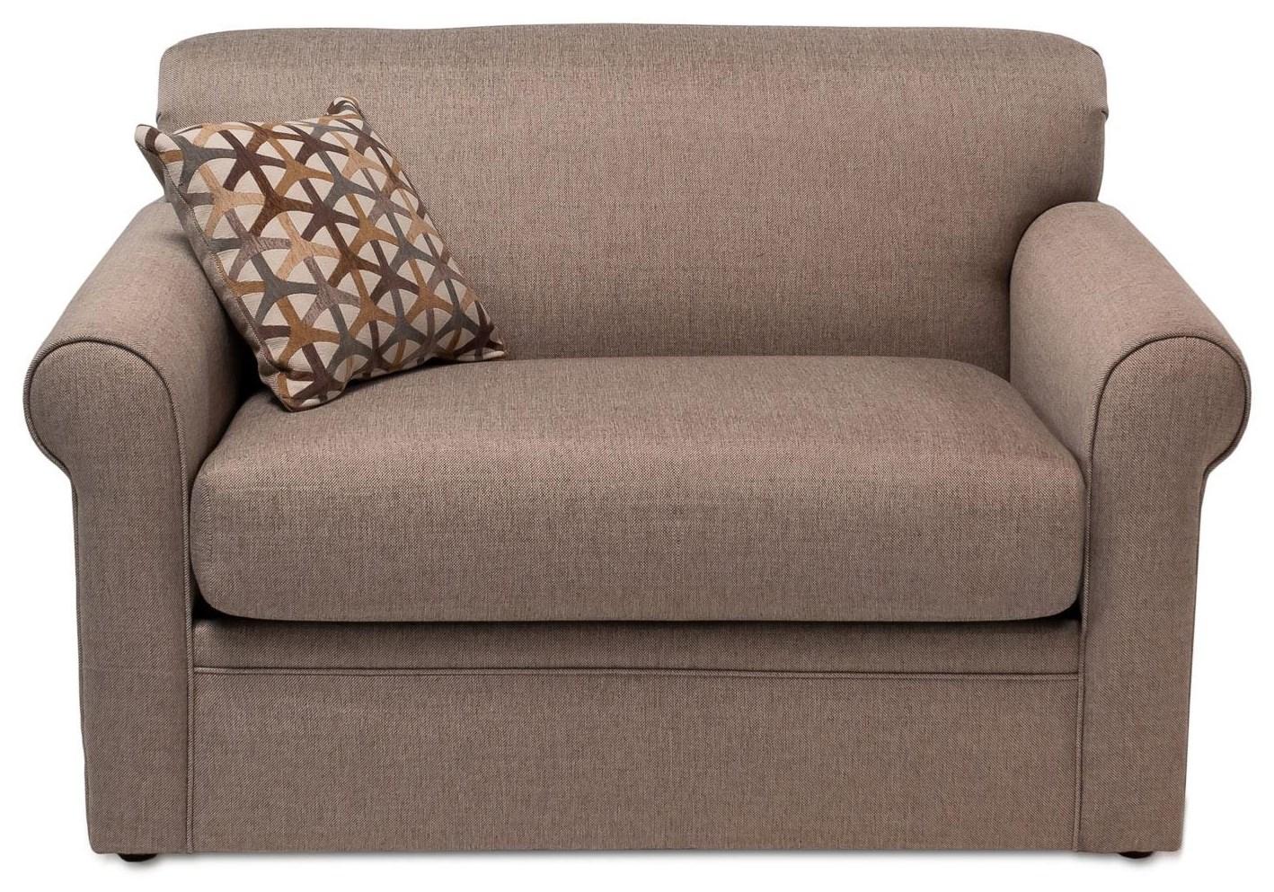 Overnight Sofa Grande Twin Sleep Sofa - Item Number: 2333-GRANDEWHEAT