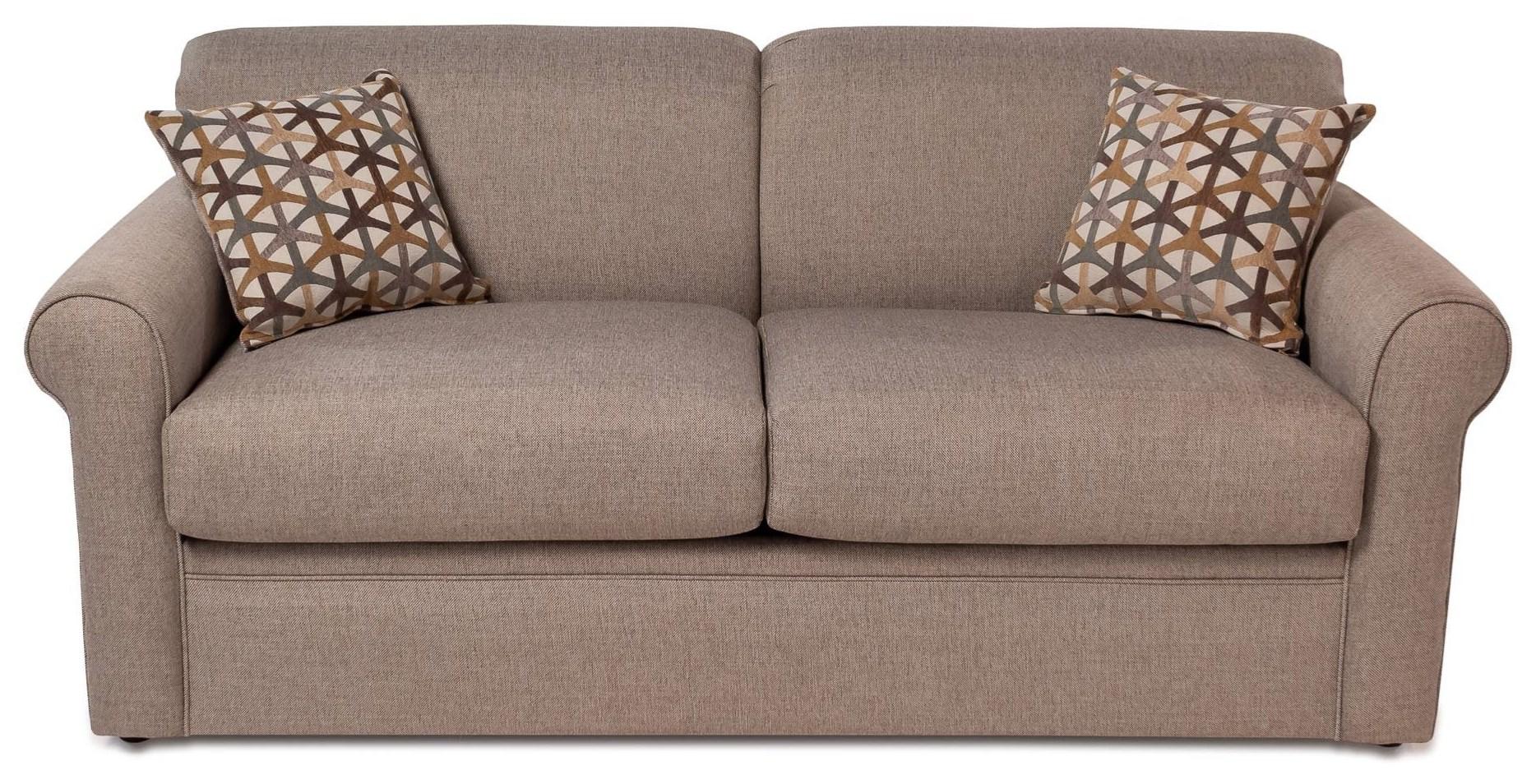 Overnight Sofa Grande Full Sleep Sofa - Item Number: 2346-GRANDEWHEAT