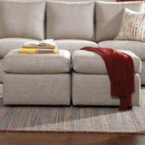 26 Frame Casual Ottoman by Overnight Sofa at Dream Home Interiors