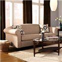 Warehouse M 33 Frame Full Sleeper - Item Number: 3346-LisburnEcru