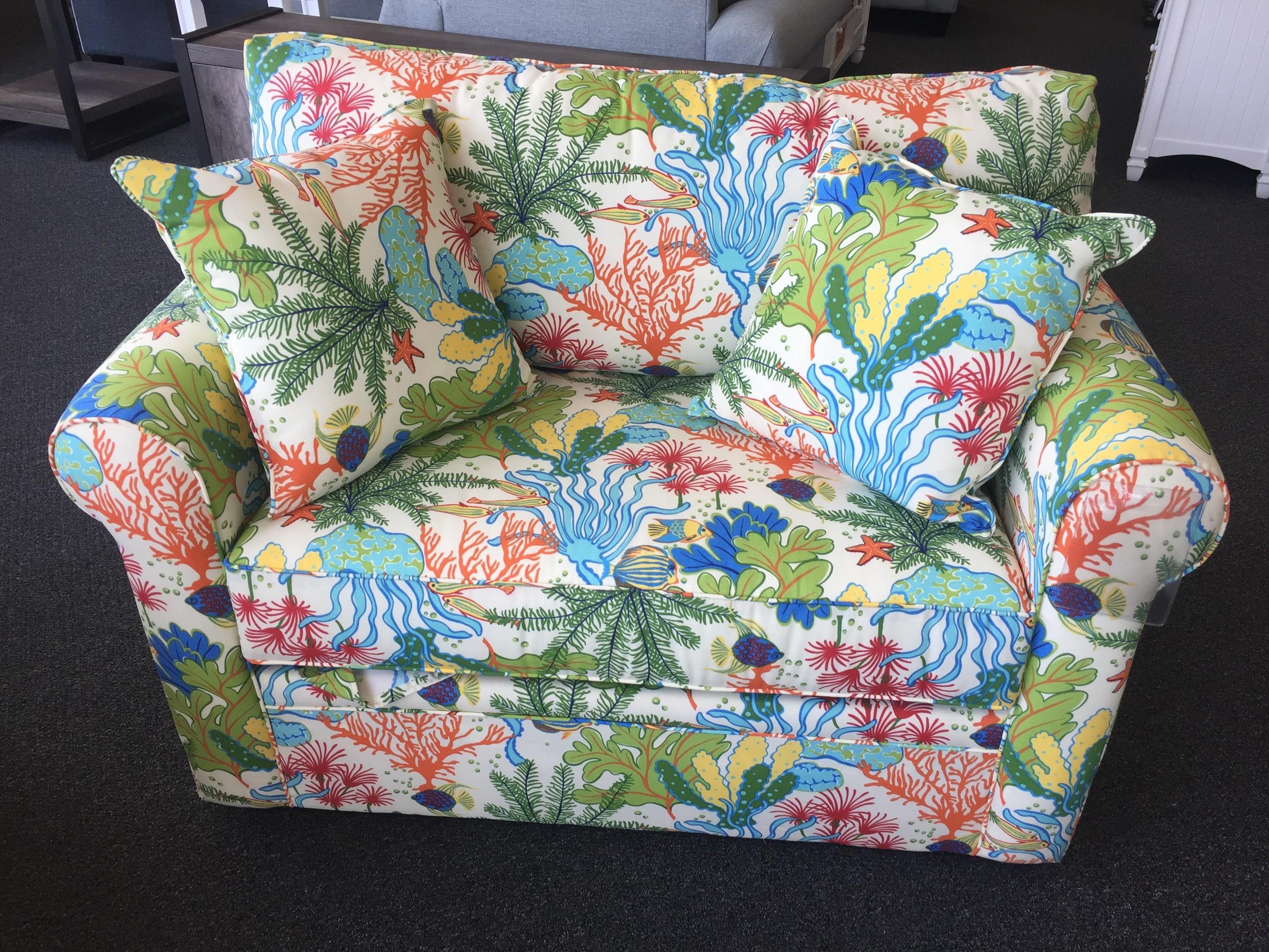 Overnight Sofa 4850 Twin Sleeper Sofa - Item Number: 4850twinsleeper
