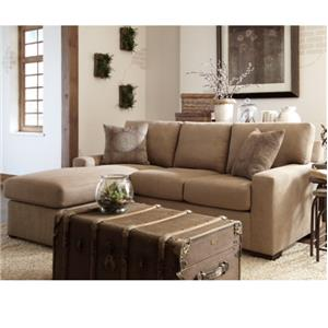 Overnight Sofa 51 Frame Casual Queen Sleeper Chaise