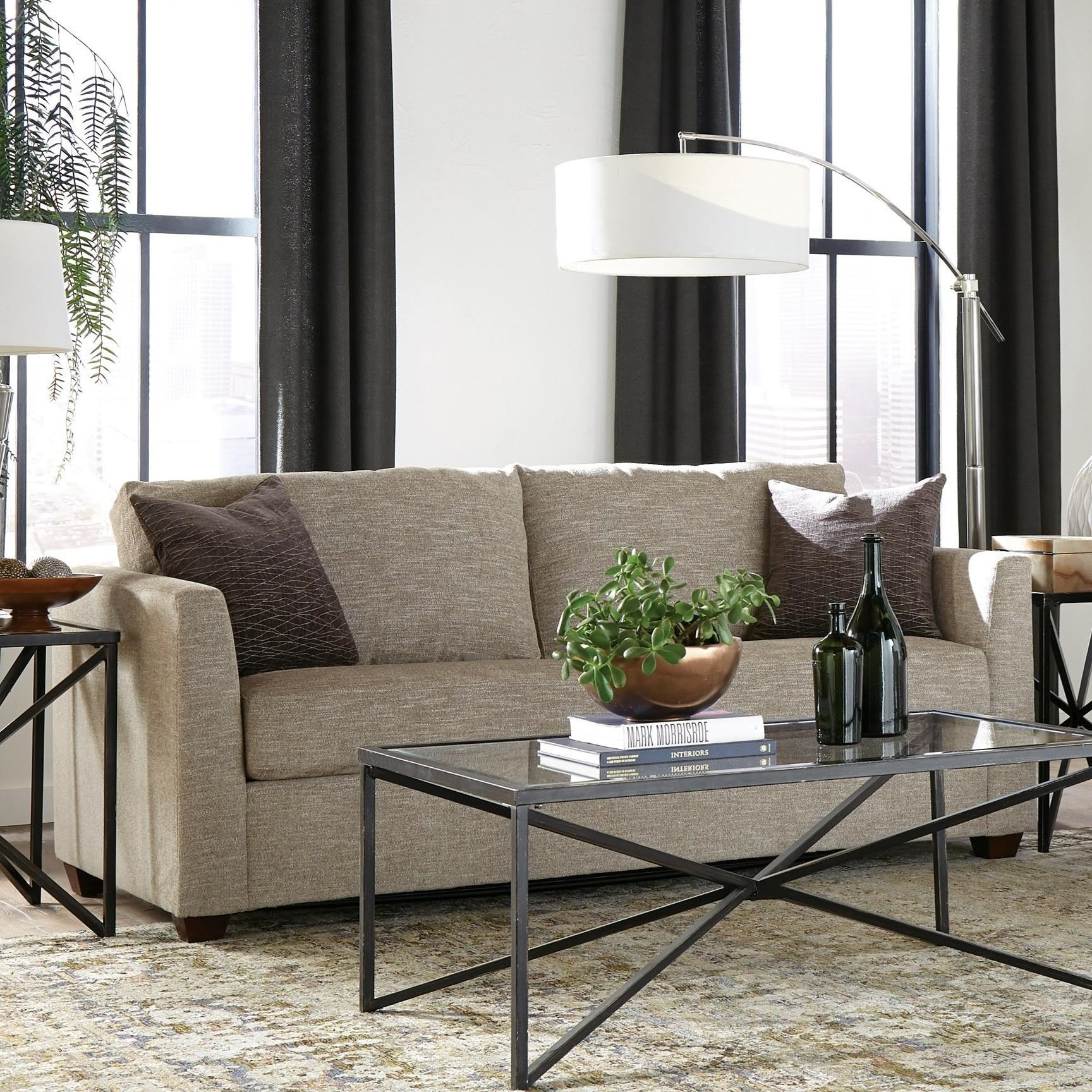 53 Frame Queen Sleeper Sofa by Warehouse M at Pilgrim Furniture City