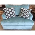 Overnight Sofa 6200Teal Twin Size Sleeper Sofa - Item Number: 6233teal