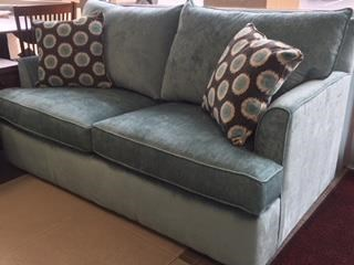 Overnight Sofa 6200Teal Full Size Sleeper Sofa - Item Number: 6246teal