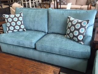 Overnight Sofa 6200Teal Queen Sleeper Sofa - Item Number: 6250
