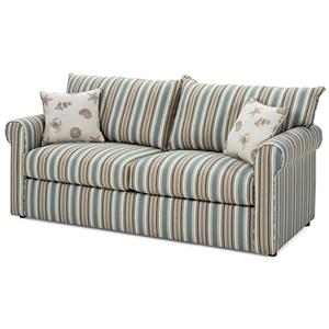 Warehouse M 79 Frame Sunbrella Fabric Full Sleeper Sofa Pilgrim Furniture City Sofa Sleeper
