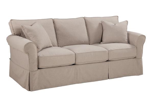 Overnight Sofa 8450slip Queen Slip Cover Sleeper - Item Number: 8450slip