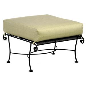 Avalon Ottoman with Splayed Legs by O.W. Lee