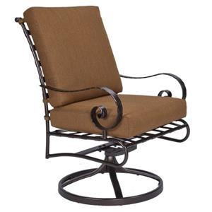Dining Swivel Rocker Arm Chair