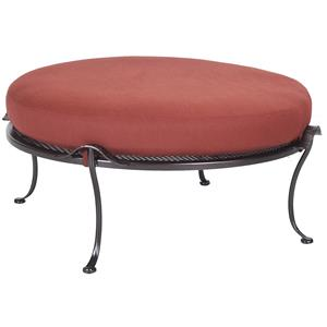Monterra  Round Ottoman with Cushion by O.W. Lee