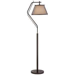 Pacific Coast Lighting Floor Lamps Three Light Metal Floor