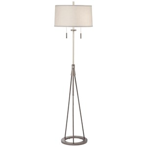 Pacific Coast Lighting Floor Lamps Adjustable Stool Floor Lamp