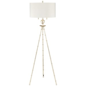 Pacific Coast Lighting Floor Lamps Metal Bamboo Tripod Lamp
