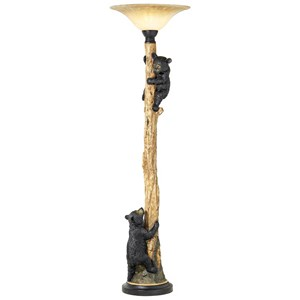 Pacific Coast Lighting Floor Lamps Climbing Bears Torchiere