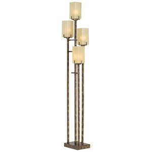 Pacific Coast Lighting Floor Lamps Kig City Heights Uplight - Bronze