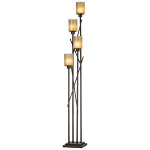 Pacific Coast Lighting Floor Lamps Kig City Crossings Uplight - Bronze