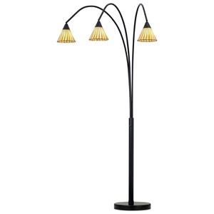 Pacific Coast Lighting Floor Lamps Archway Floor Lamp-Bronze & Tiffany