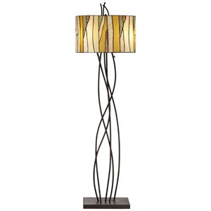 Pacific Coast Lighting Floor Lamps Oak Vine Floor Lamp