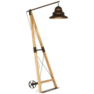Pacific Coast Lighting Floor Lamps Industrial Bell Floor Lamp