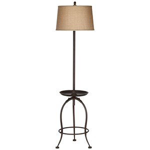 Pacific Coast Lighting Floor Lamps Ellerby Floor Lamp W/Tray