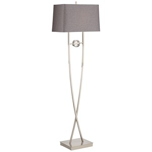 Pacific Coast Lighting Floor Lamps Wishbone Floor Lamp