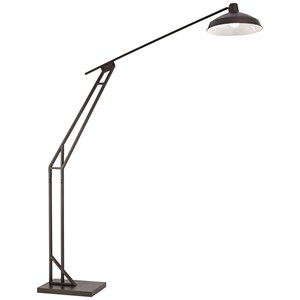 "Pacific Coast Lighting Floor Lamps 66"" Bronze Downbridge Floor Lamp"
