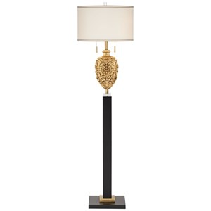Pacific Coast Lighting Floor Lamps Gold And Black Traditional Floor Lamp
