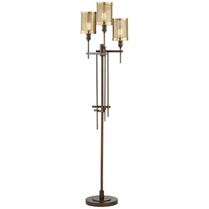 Pacific Coast Lighting Floor Lamps 3 Light Uplight Floor Lamp