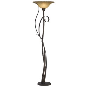 Pacific Coast Lighting Floor Lamps Kij Climbing Vine Torchiere