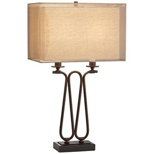 Pacific Coast Lighting Table Lamps Lancelot Table Lamp