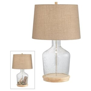 Pacific Coast Lighting Table Lamps Clear Table Lamp