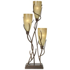 Pacific Coast Lighting Table Lamps El Dorado Uplight Table Lamp