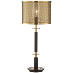 Pacific Coast Lighting Table Lamps Column With Perforated Shade Lamp