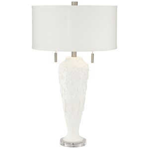 Pacific Coast Lighting Table Lamps Floral Flute Lamp