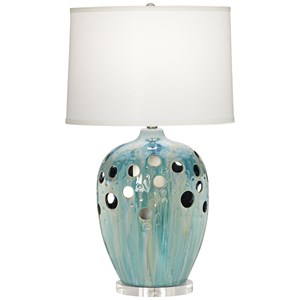 Pacific Coast Lighting Table Lamps Pok I Dot Ceramic Lamp